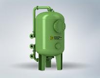 碳钢衬胶钠(阳)离子交换器